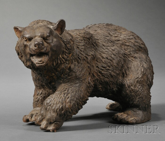 Cast Iron Figure of a Bear