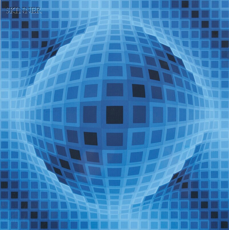 Victor Vasarely (French/Hungarian, 1906-1997)      Image