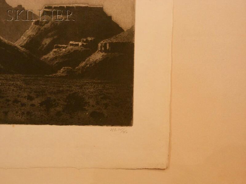 George Elbert Burr (American, 1859-1939)      Desert Night