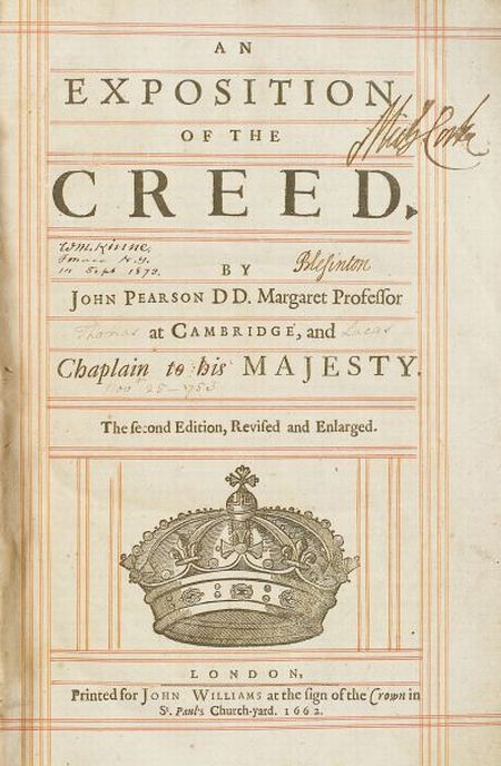 Pearson, John (1613-1686)
