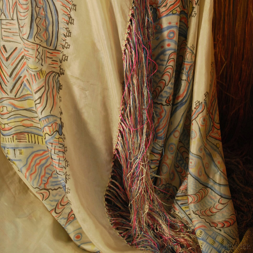 Five American and European 1920s Textiles