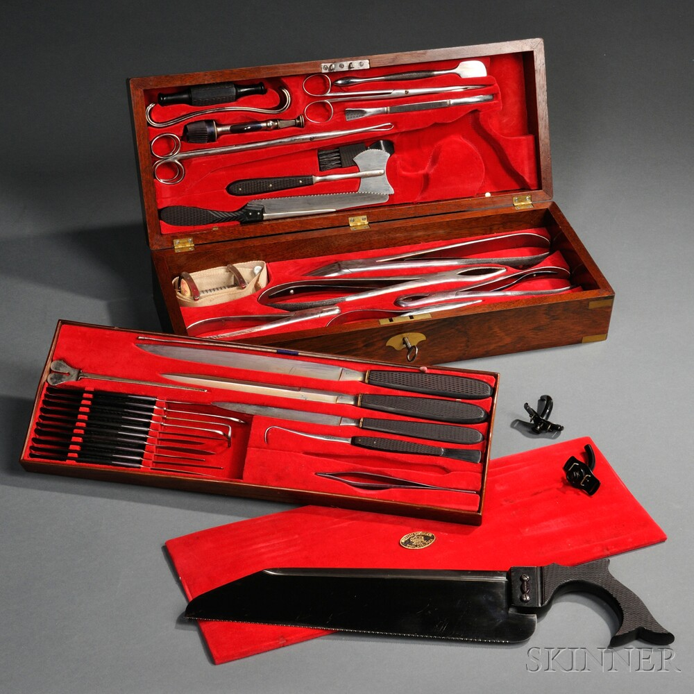 William Snowden Surgical Set