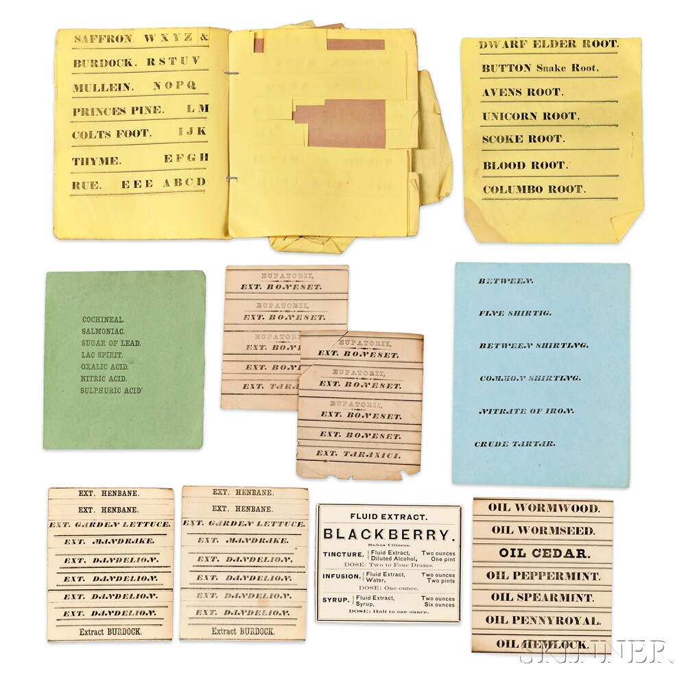 """""""Mall"""" of Printed Shaker Herb and Plant Labels, and others"""