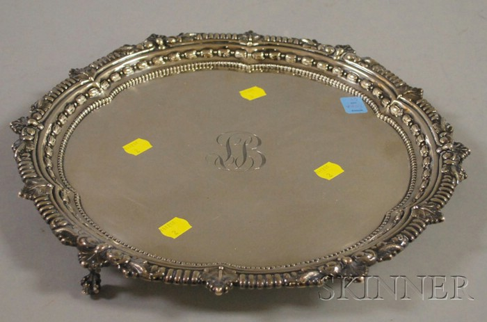 Dominick & Haff Footed Sterling Salver