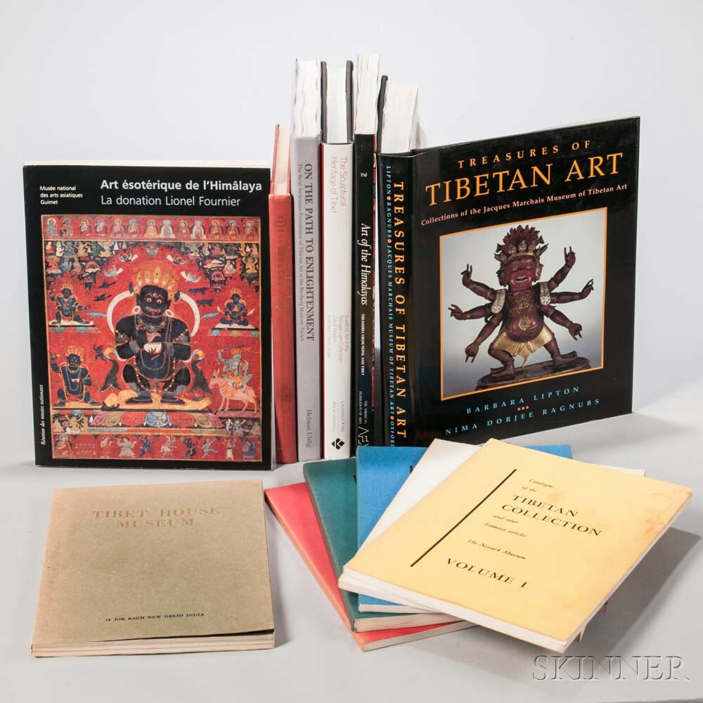 Seven Books on Collections of Tibetan Art