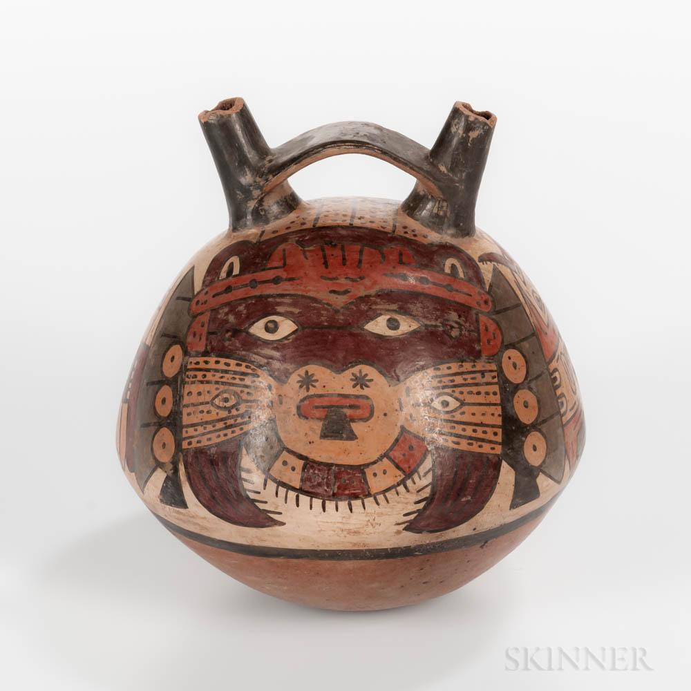 Pre-Columbian Pottery Flask