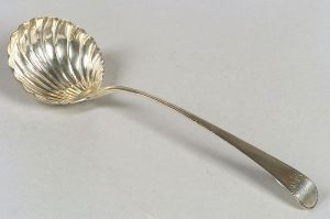 George III Silver Punch Ladle