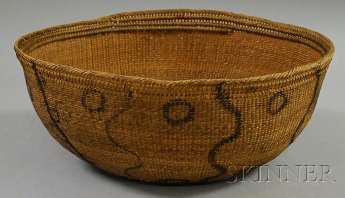 Yanomani Painted Basket