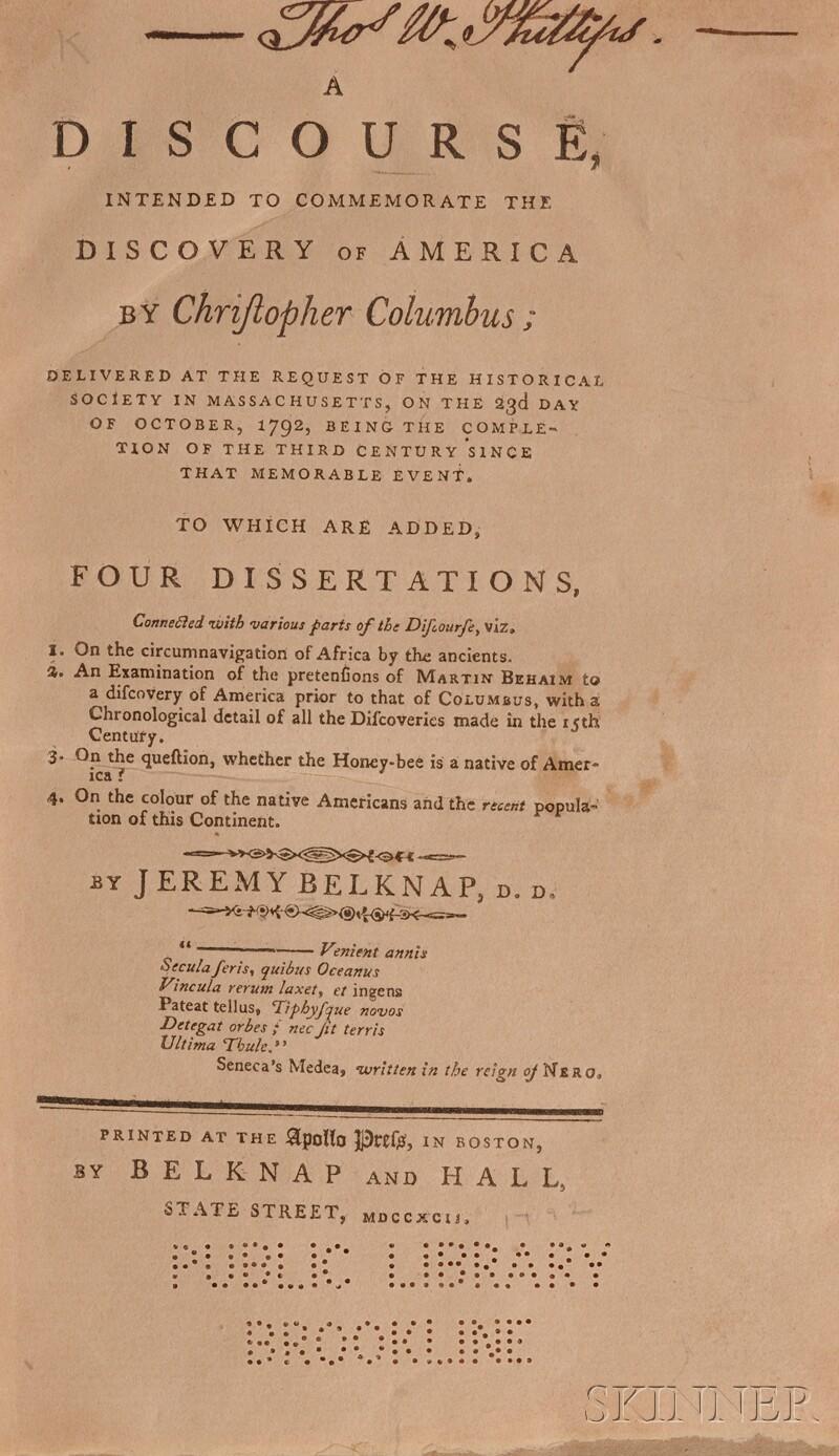 Belknap, Jeremy (1744-1798)
