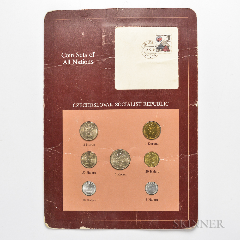 Small Group of Foreign Coins and Currency