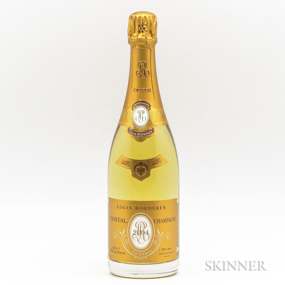Louis Roederer Cristal 2004, 1 bottle