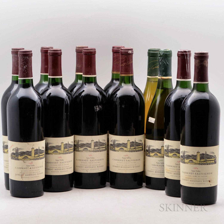 Robert Mondavi, 12 bottles
