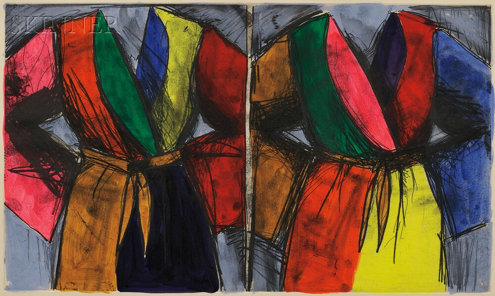Jim Dine (American, b. 1935)      Jumps Out at You, No?