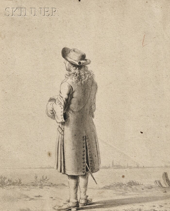 Dutch School, 17th Century      Gentleman in a Landscape