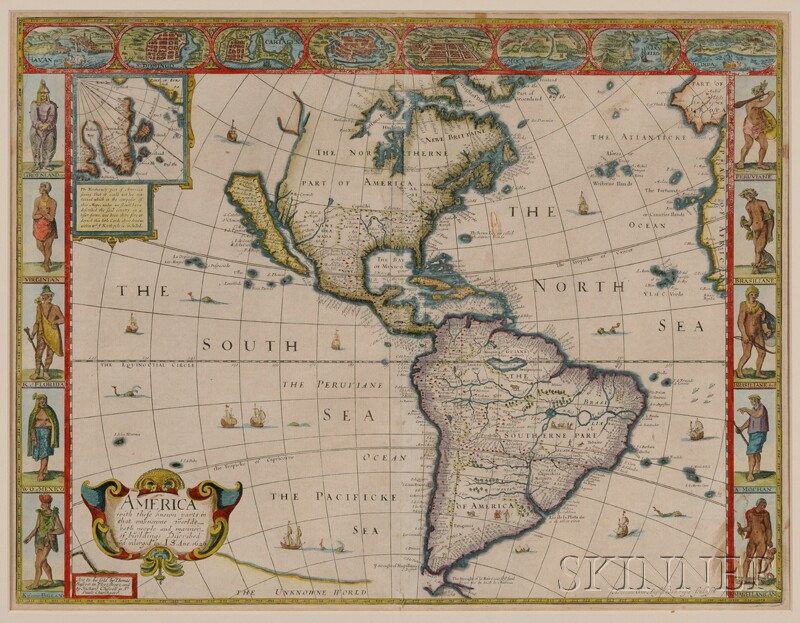 (Maps and Charts, North America), Speed, John (1552-1629)