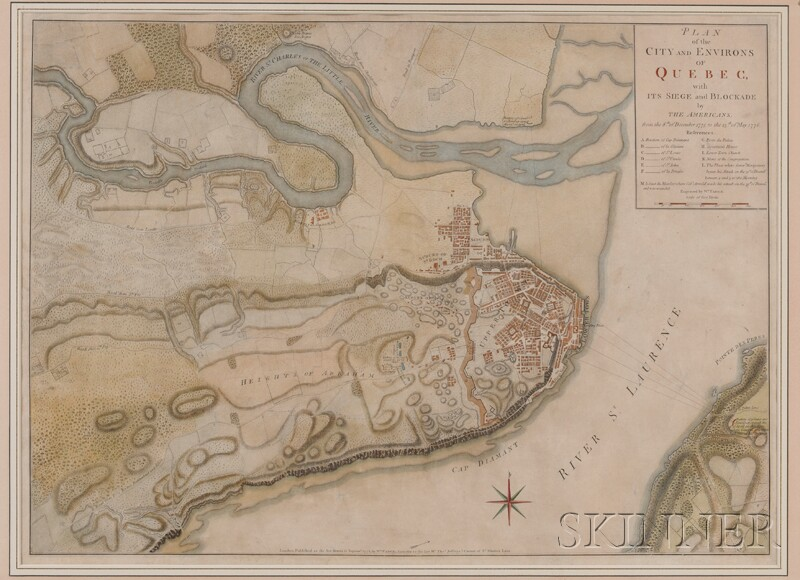 (Maps and Charts, North America, Revolutionary War), Faden William