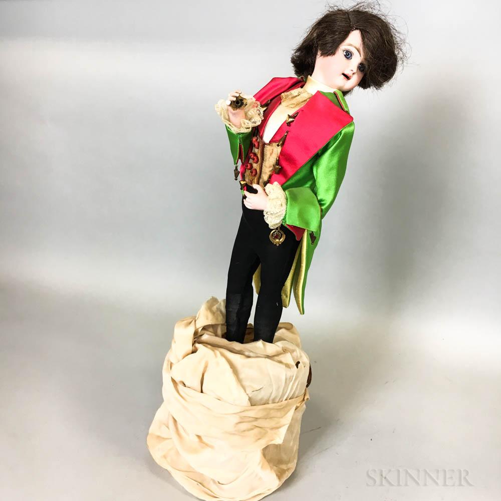 Tete Jumeau Bisque Head Automaton of a Boy