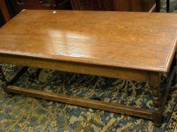 Oak Joint Coffee Table.