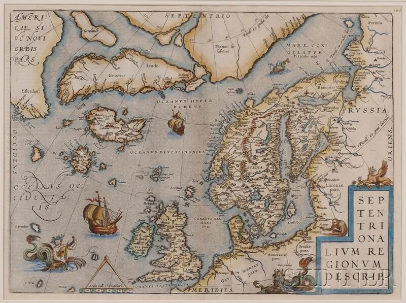 (Map and Charts, Polar Regions), Ortelius, Abraham (1527-1598)