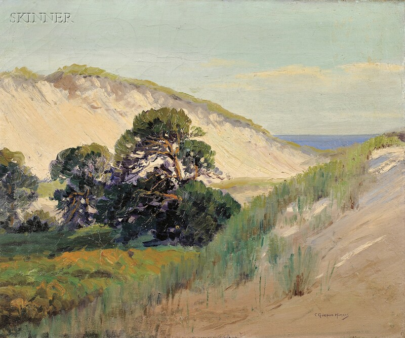 Charles Gordon Harris (American, 1891-1963)      Sand Dunes, Westport Point
