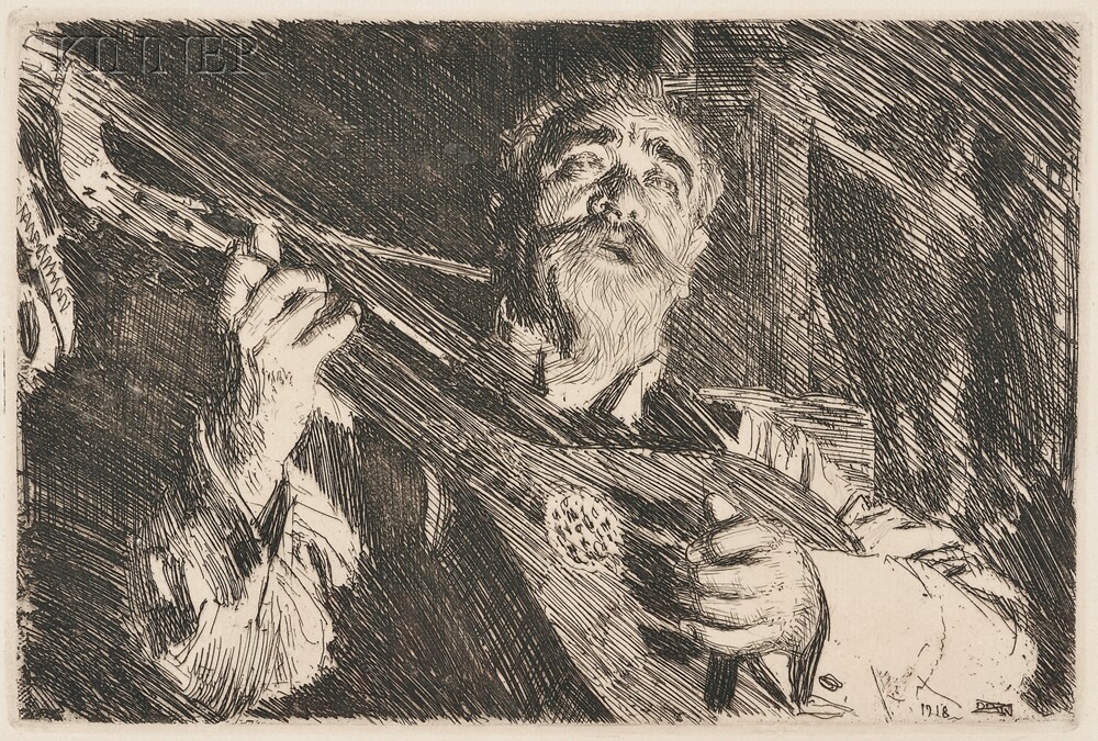 Anders Zorn (Swedish, 1860-1920)      Vicke