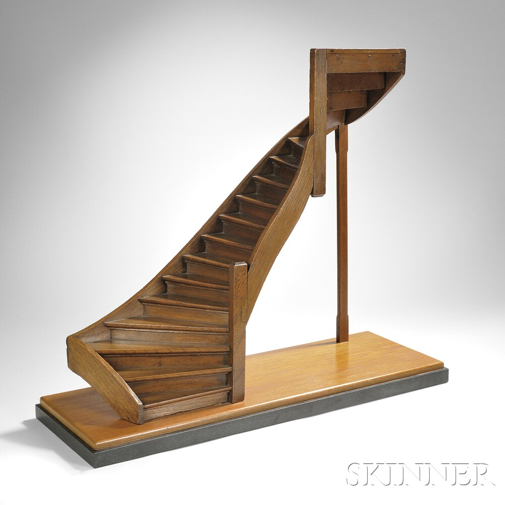 Architectural Model Of A Staircase Sale Number 2875b