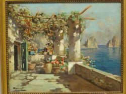 Decorative European Coastal Oil