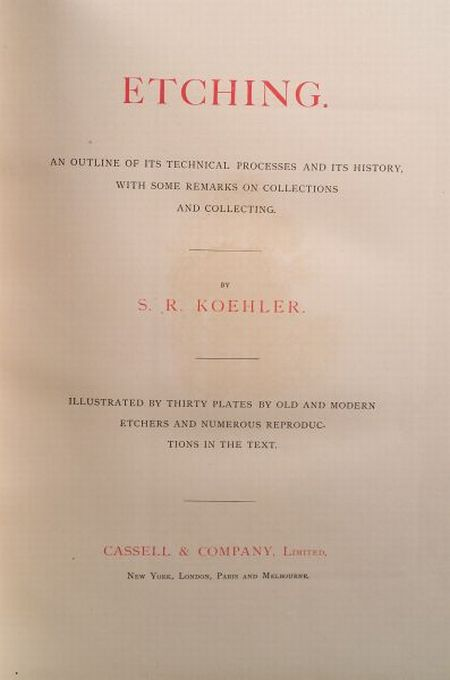 Koehler, Sylvester Rosa