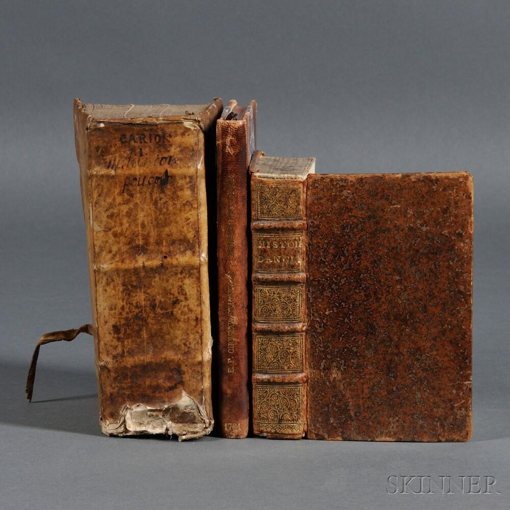 History, French Language, Three Volumes, 1611-1761: