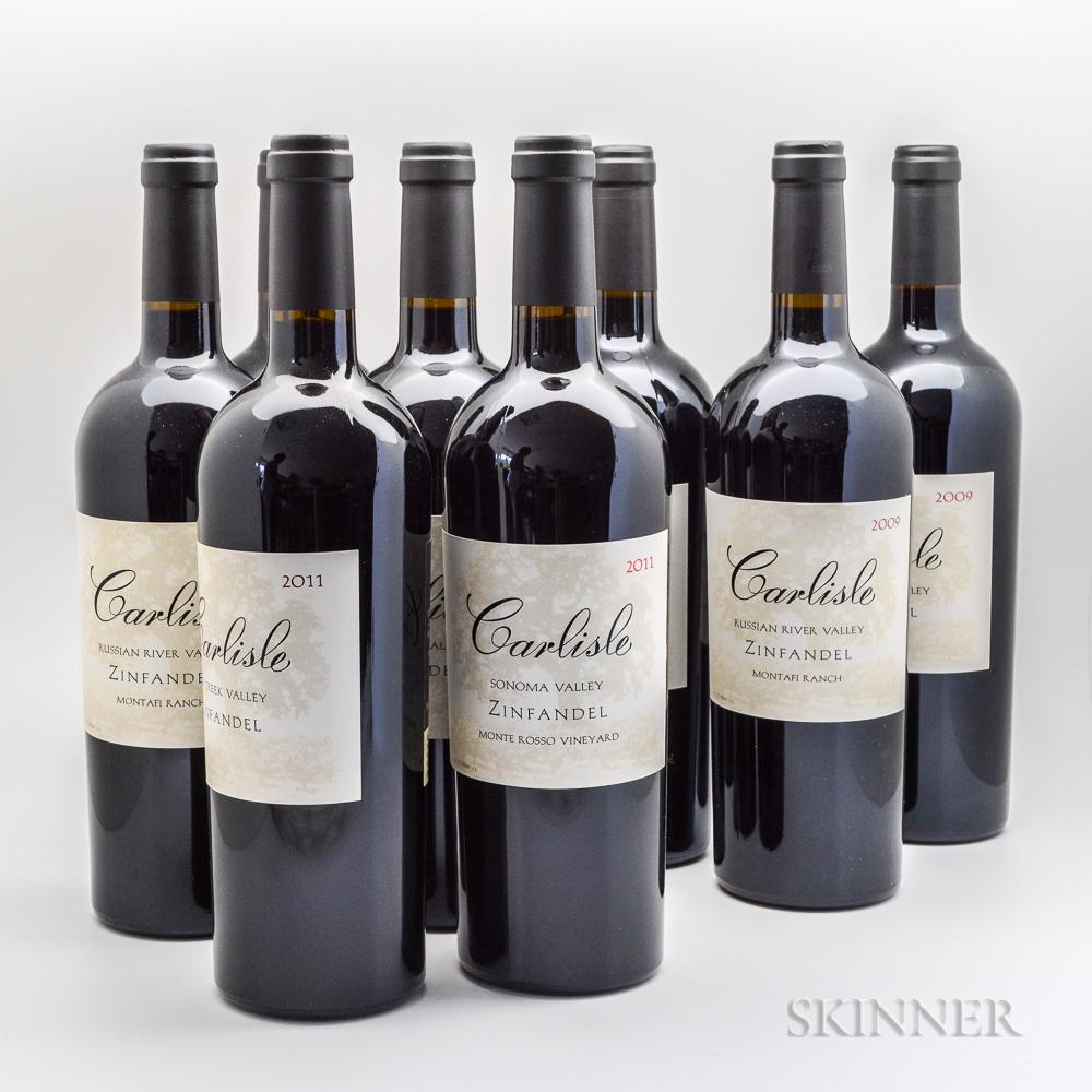 Carlisle Zinfandel, 8 bottles