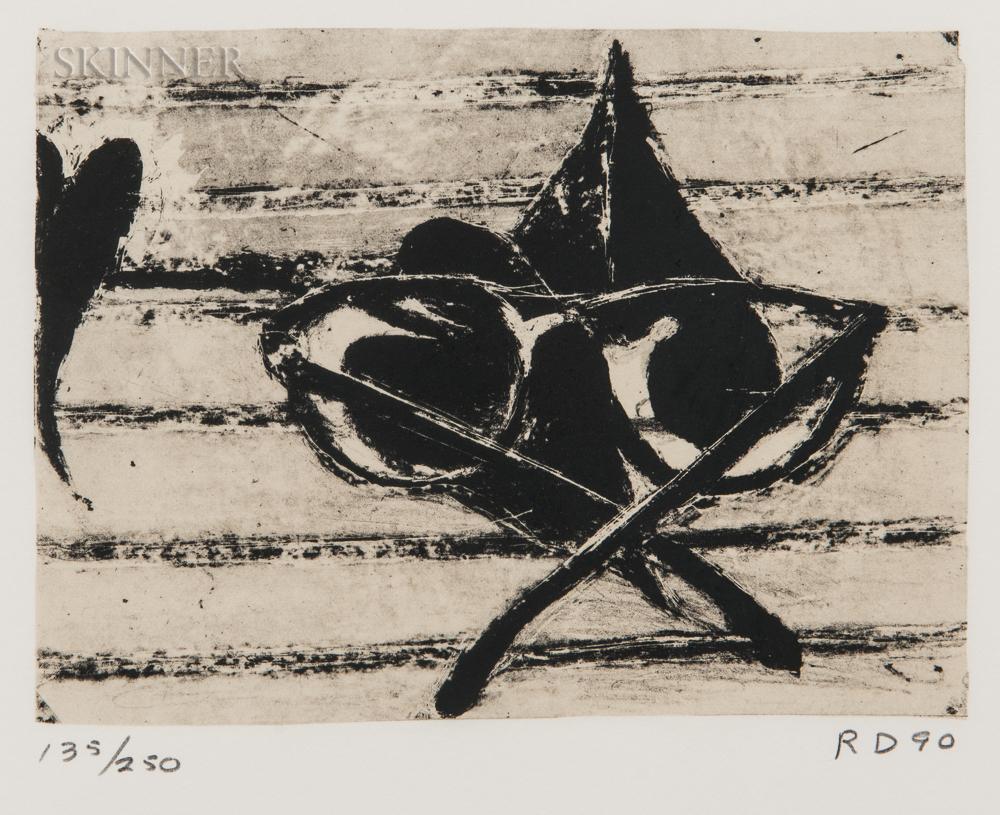 Richard Diebenkorn (American, 1922-1993)      Untitled