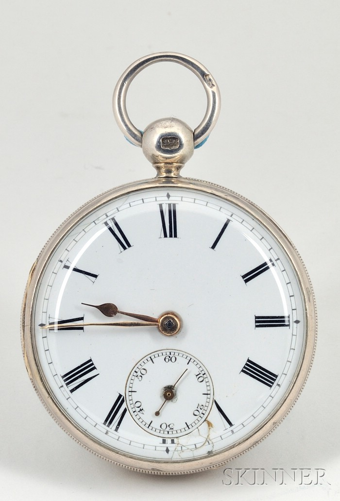 Two Silver Consular Cased Massey Lever Watches by Litherland, Davies & Company