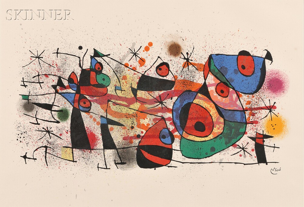 Joan Miró (Spanish, 1893-1983)      Ceramiques
