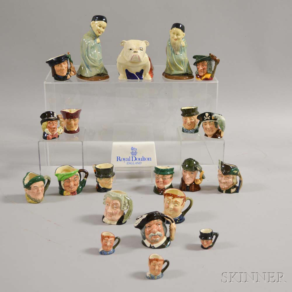 Twenty-two Assorted Royal Doulton Ceramic Items