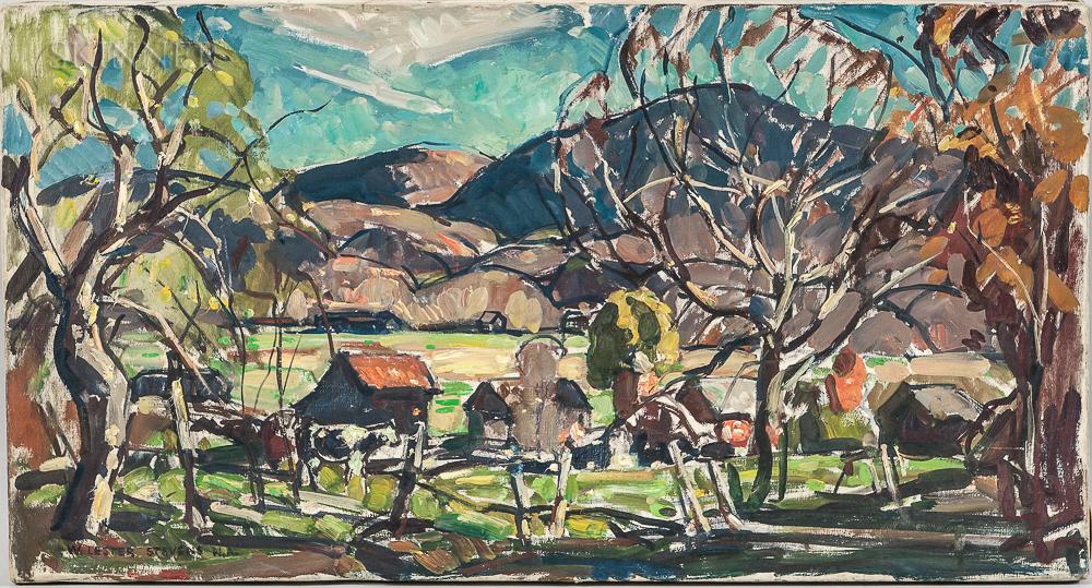 William Lester Stevens (American, 1888-1969)      Farm Yard