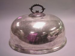 Georgian-style Silver Plated Meat Cover/Dome.