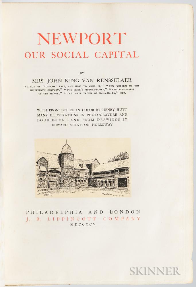 Van Rensselaer, Mrs. John King (1848-1925) Newport, Our Social Capital