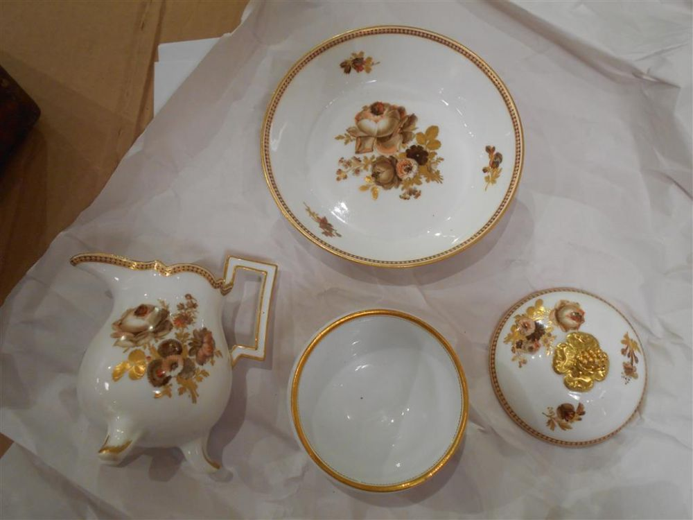 Meissen Porcelain Travel Tea Set