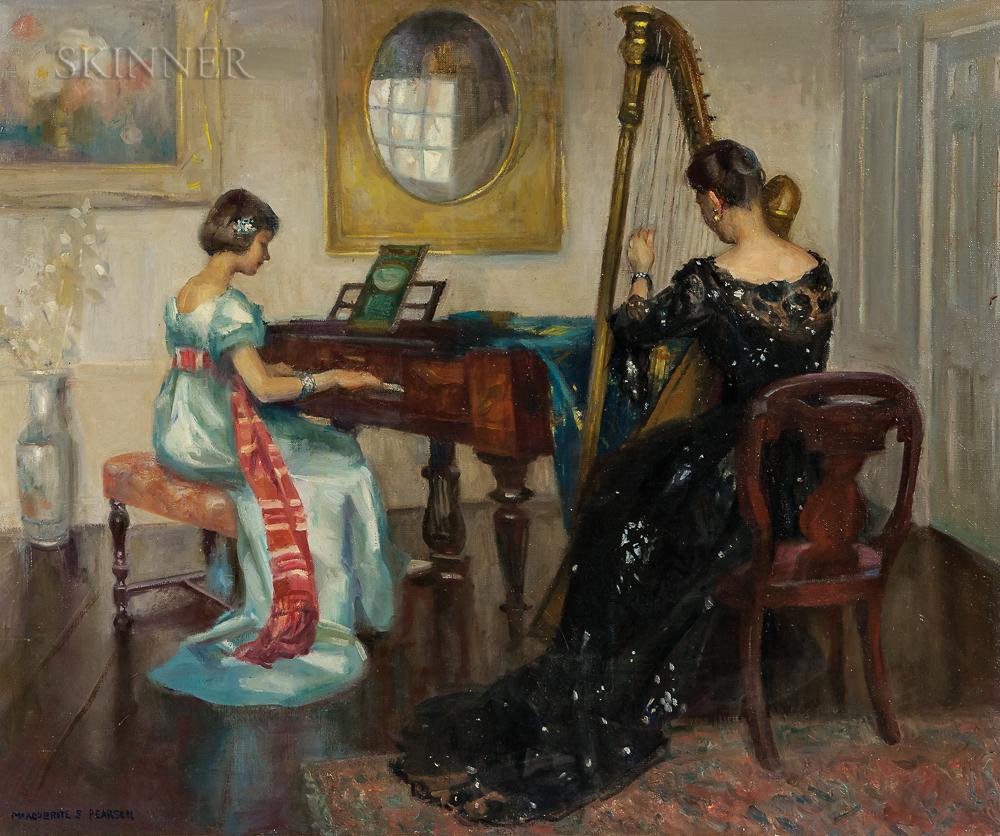 Marguerite Stuber Pearson (American, 1898-1978)      The Duet
