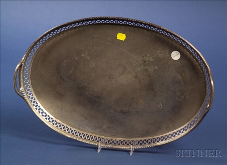 Continental .800 Silver Tray