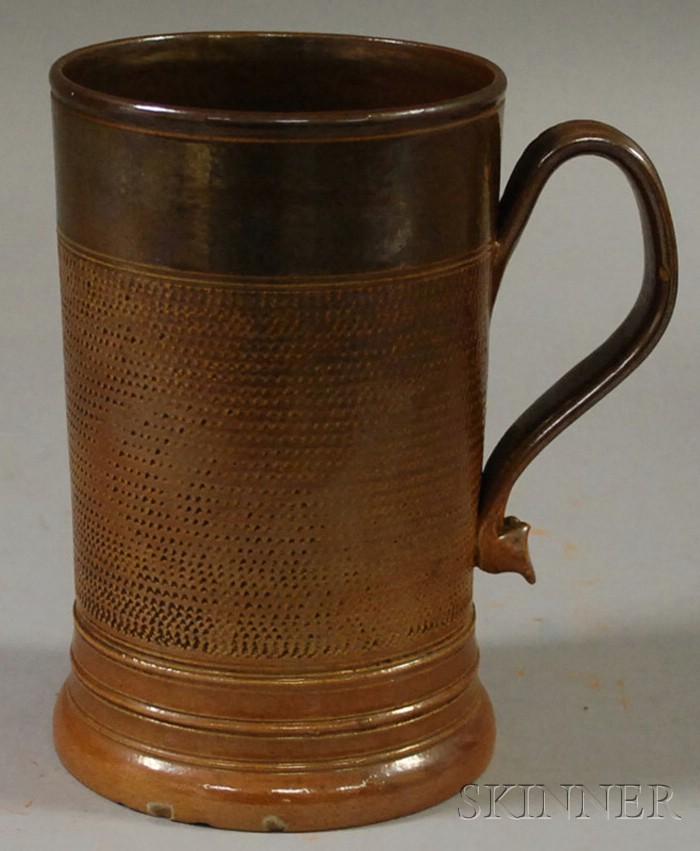 Salt-glazed Stoneware Mug