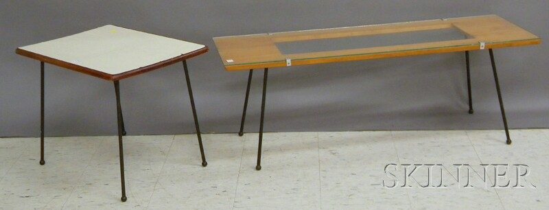 Two Mid-century Modern Tables