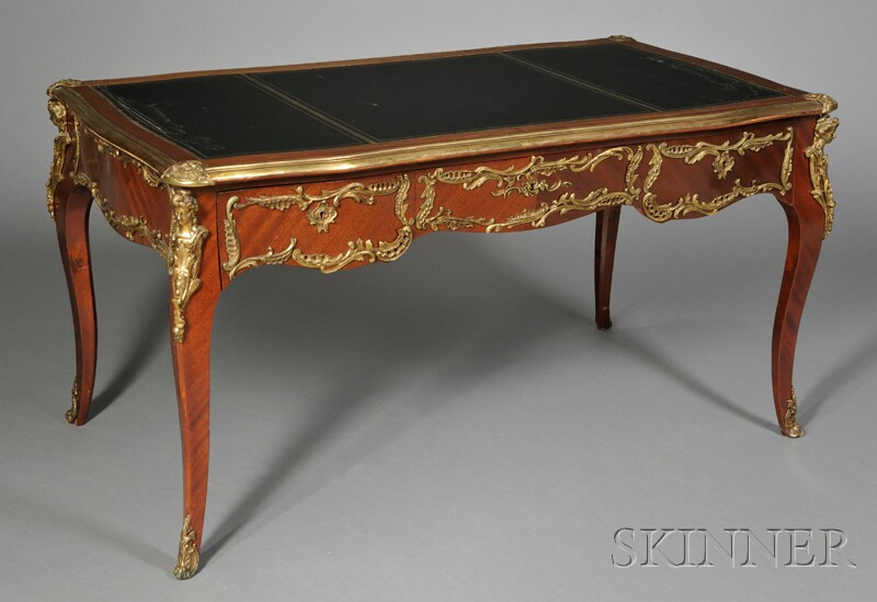 Louis XV-style Bureau Plat