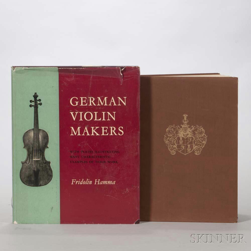 Two Books on German Violins
