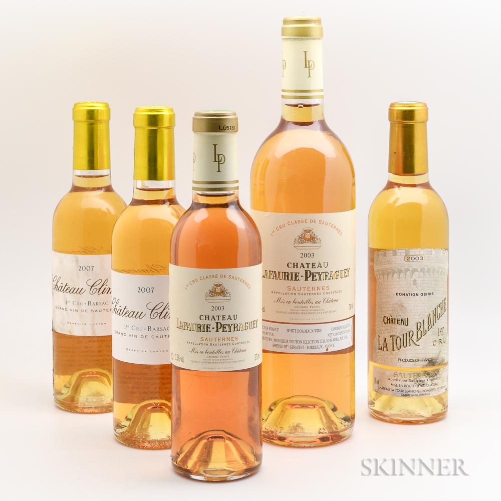 Mixed Sweet Bordeaux Wine, 1 bottle 4 demis