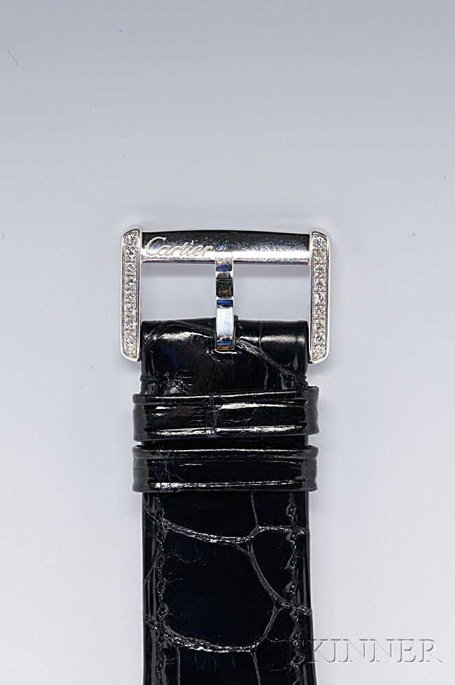 Lady's 18kt White Gold and Diamond