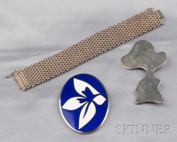 Three Artist-designed Jewelry Items