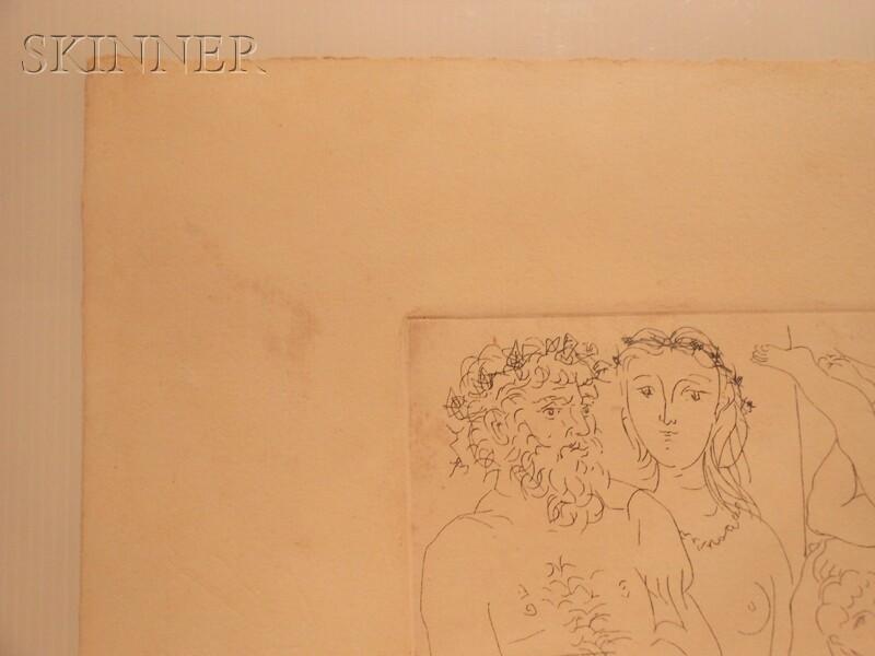 Pablo Picasso (Spanish, 1881-1973)      Famille de saltimbanques