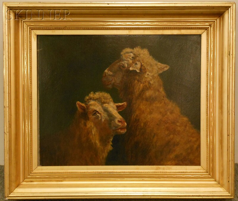 Rosalie (Rosa) Marie Bonheur (French, 1822-1899)      Two Sheep