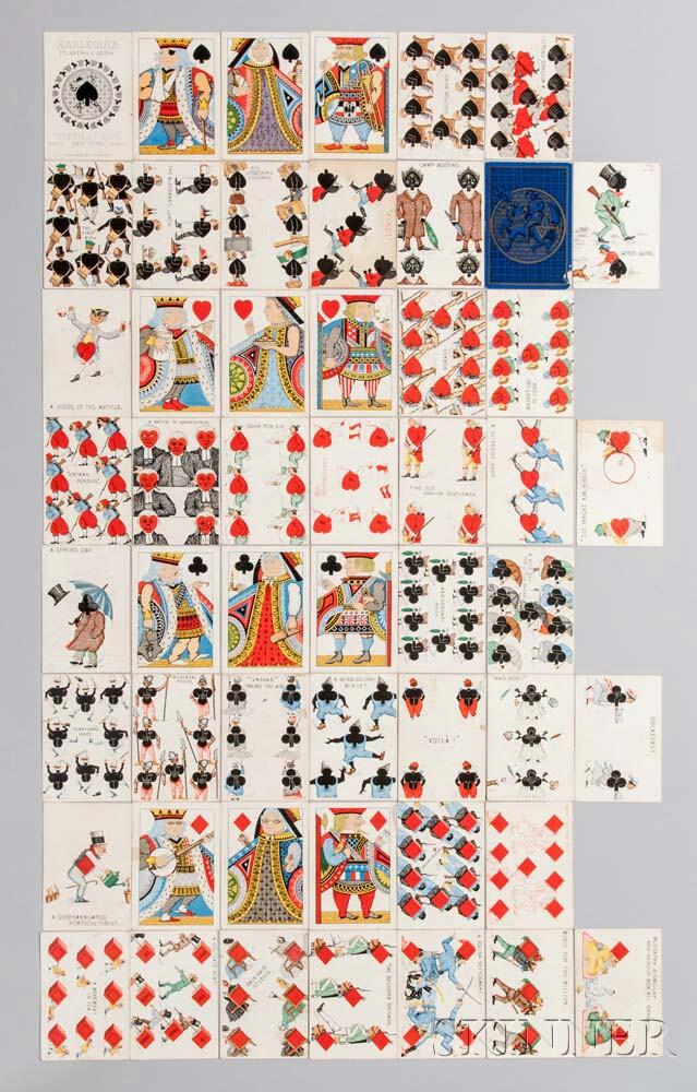 Harlequin Transformation Deck of Cards